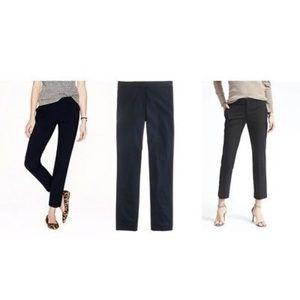 J Crew 00 Tollegno 1900 Black Label Dress Pants